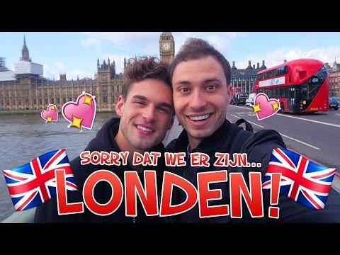 Sorry dat we er zijn... LONDEN! | Rutger en Thomas Vlog