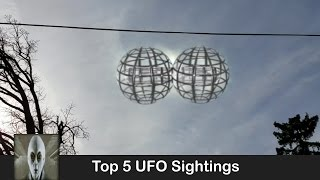 Top 5 UFO Sightings March 24th 2017