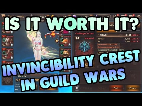IS IT WORTH IT? Testing Invincibility Crest in Live Guild Wars!   HIT Heroes of Incredible Tales GW