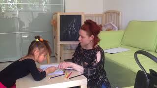 """Бесплатное развитие для малышей, урок 16 - поделка календарь """"времена года""""."""