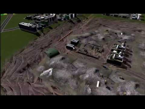 Salem Valley trash facility Build