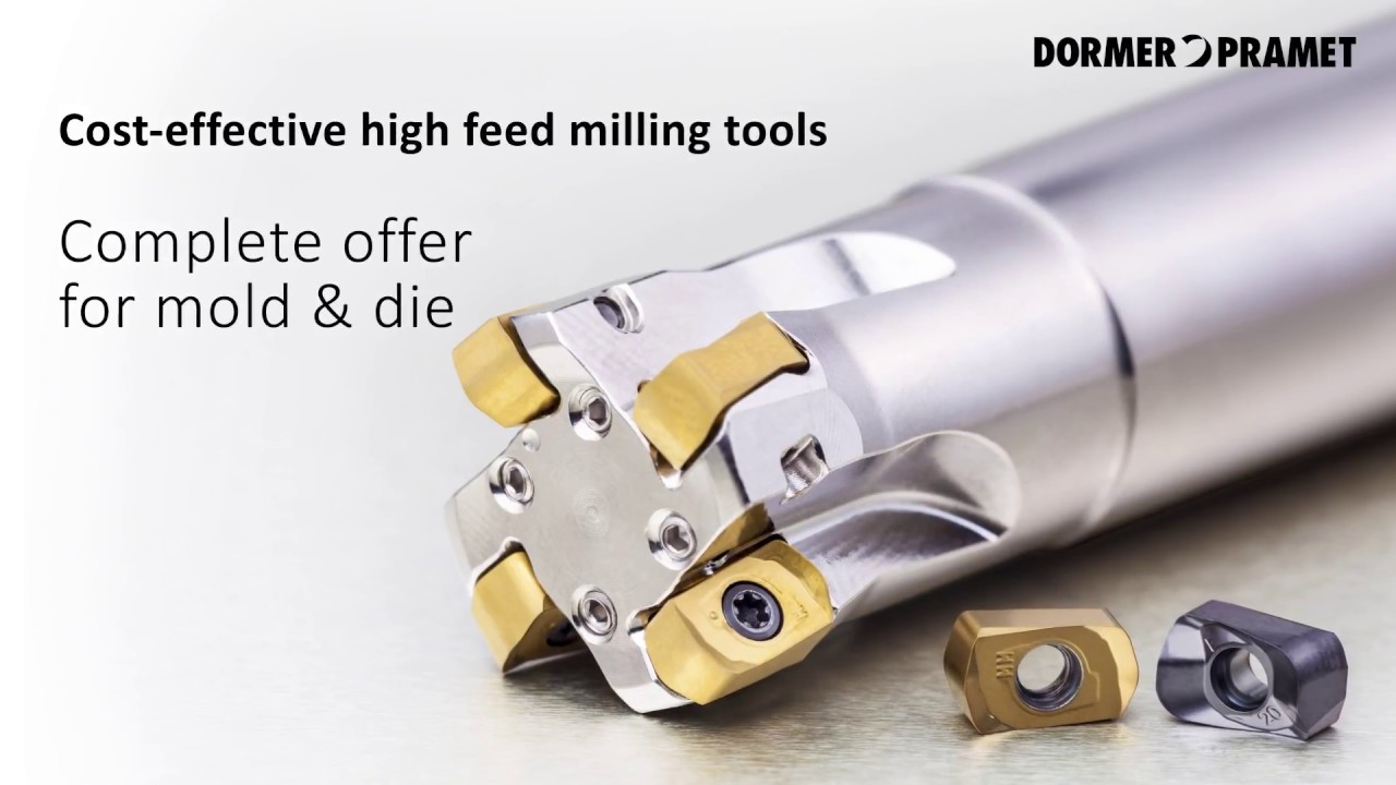Cutting Tools and Inserts Deliver High Feed Milling and Versatility