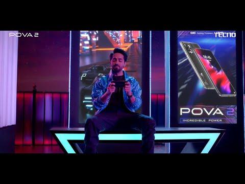 POVA 2 | Best 7000mAh Battery Smartphone | 48MP AI Quad Camera and Helio G95 Processor