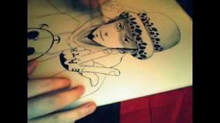 How I draw Trafalgar Law from One Piece - Speedpaint
