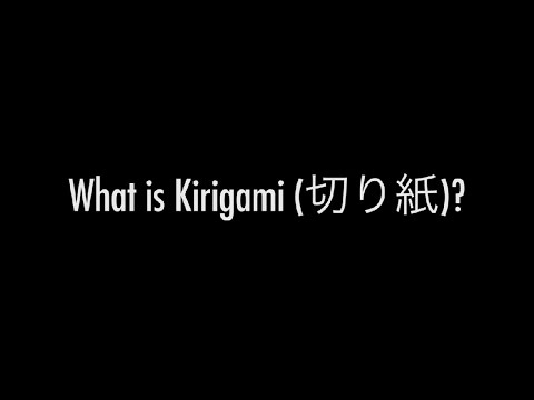 What is Kirigami