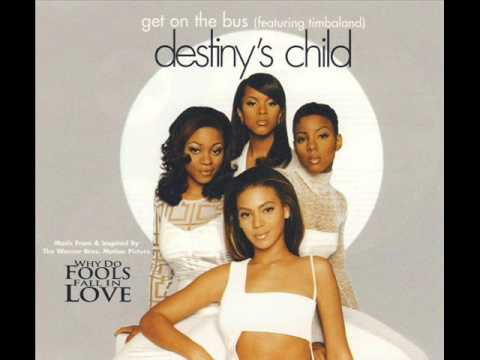 Destiny's Child - Get On The Bus (Feat. Timbaland) (Instrumental)