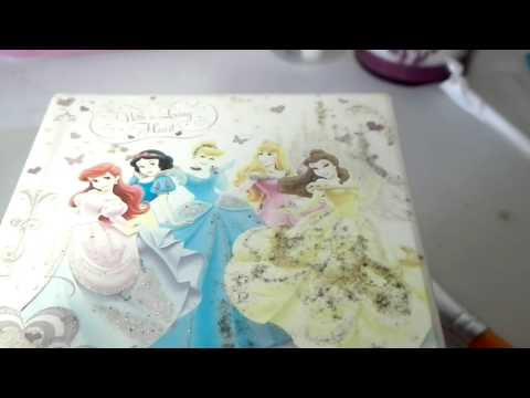 My old disney princess music box
