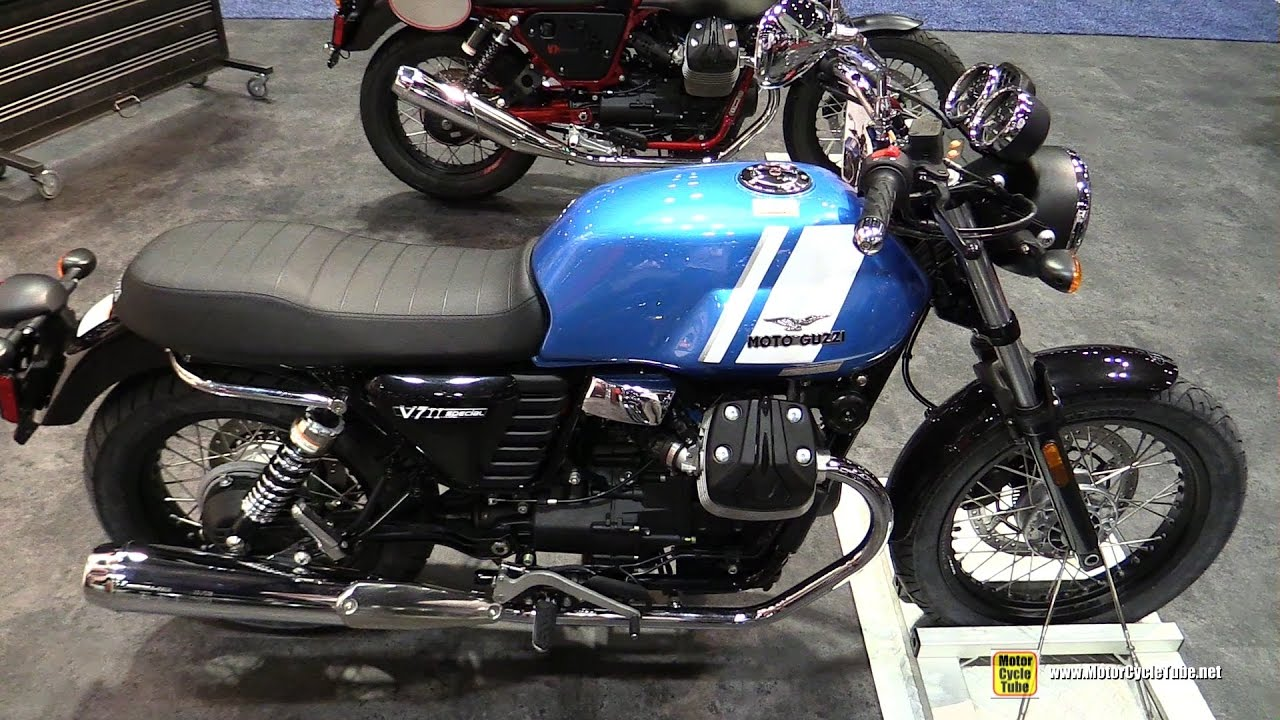 2017 moto guzzi v7 ii special walkaround 2016 aimexpo. Black Bedroom Furniture Sets. Home Design Ideas