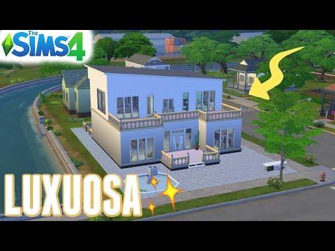 DO LIXO AO LUXO #19 - NOVA CASA LUXUOSA - THE SIMS 4 thumbnail