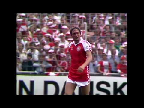 Preben Elkjær vs USSR. 1985 WC Qualification. All touches & actions.