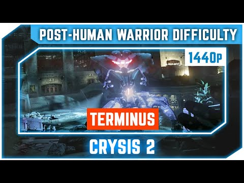 Crysis 2 - Terminus  - All Collectibles - Post Human Warrior - Ultra 2K 60 FPS  