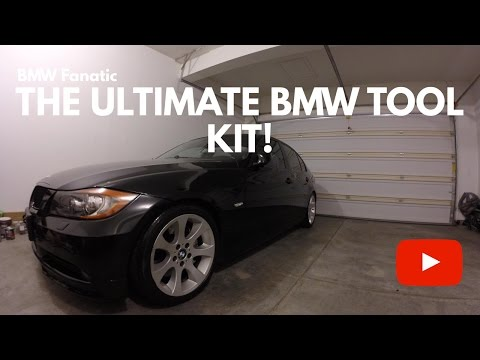 The Ultimate BMW DIY Maintenance Tool Kit!