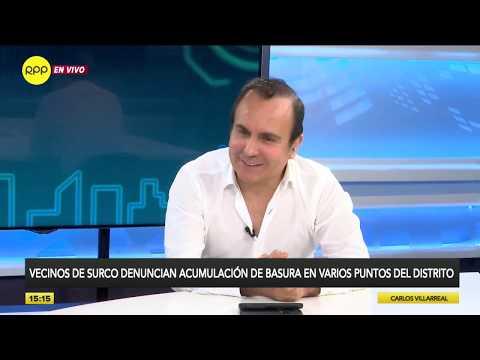 Alcalde De Surco Y Gerente De Petramás Se Enfrentan Por Acumulación De Basura