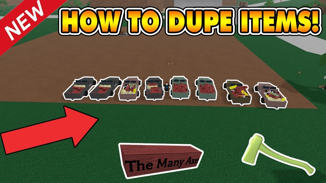 New Item Dupe Script Unlimited Items Not Patched Lumber