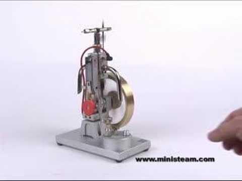 Maier Gas Engine Motor CLASSIC Large Flywheel Piezo Ignition