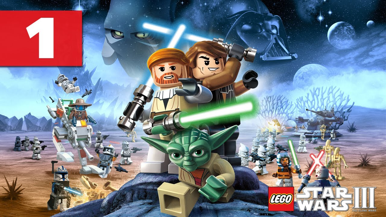 lego star wars 3: the clone wars - walkthrough - part 1