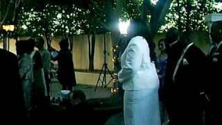 "Sia Singing at Wedding... Beyonce and Marc Nelson "" After all is said and done."