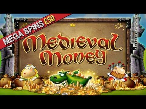 More Crap from LADBROKES - Medieval Money - £50 Mega Spins