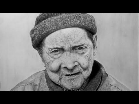 Realistic drawing of my grandfather