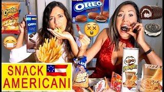 ASSAGGIAMO NUOVI SNACK AMERICANI 🍟😨 ASSURDI con OLIO DI PALMA !!!!! 🍩 🇺🇸 - Carlitadolce