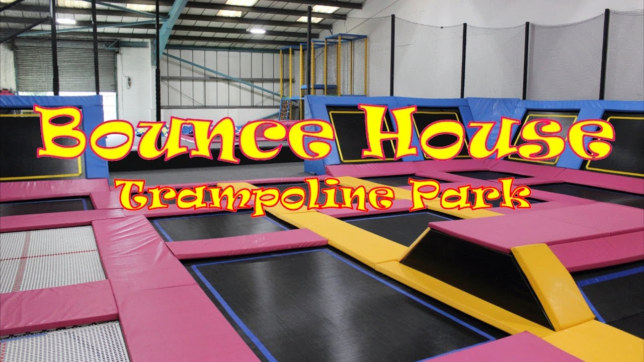 Trampoline room in house - Bounce House Trampoline Park Kids Day Out