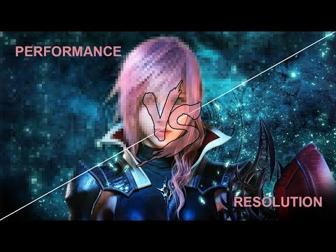 Final Fantasy XIII - Xbox one X - Performance Versus Graphic mode
