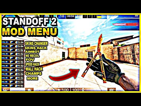STANDOFF 2 HACK NO ROOT|MOD MENU [0.13.6] TÜRKÇE SKINS CHANGER/SKINS HACK/NO RECOIL/CASES|BOX HACK