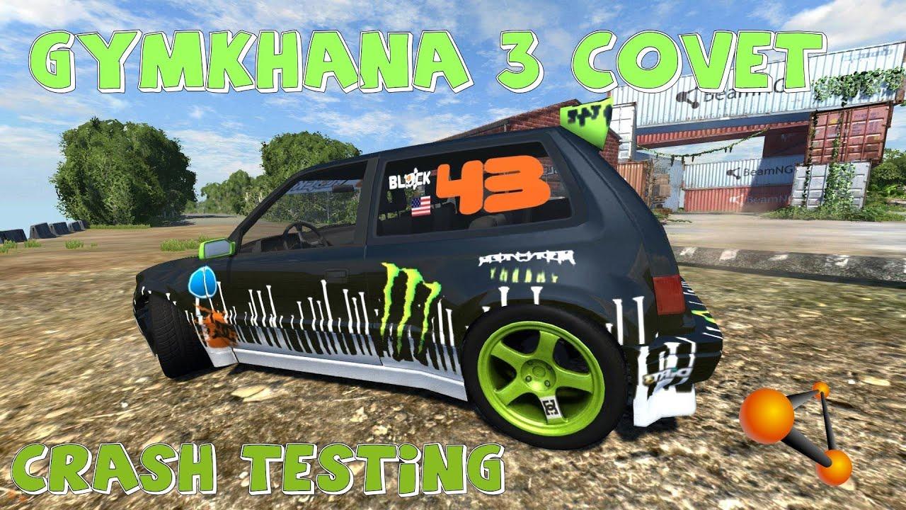 Beamng Drive Gymkhana 3 Covet Crash Testing 48