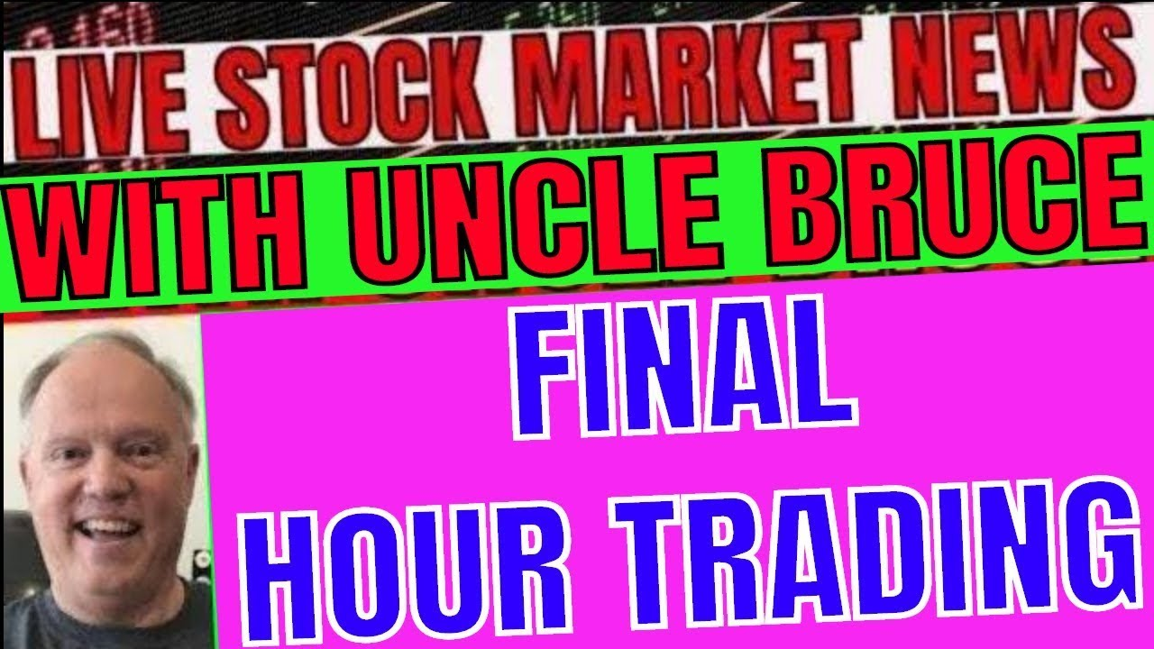 23 & ME SHARES RISE OVER 20% ON HEAVY VOLUME LIVE MARKETS IN PLAIN ENGLISH WITH UNCLE BRUCE