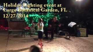 Amazing young blues dancer w/ Molten Mike slide guitar