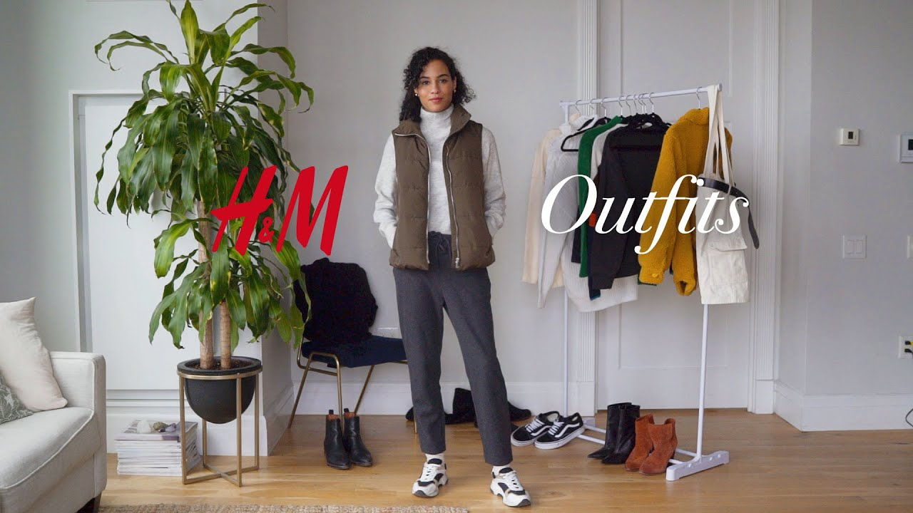 [VIDEO] - 9 H&M Outfits for Fall | Sharlene Radlein 2