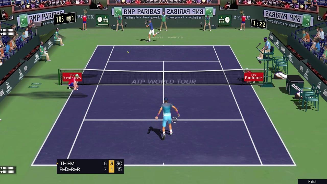 Tennis Sports Patch