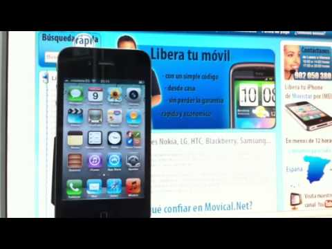 desbloquear iphone 4s movistar