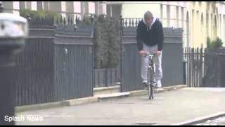 Guy Ritchie and son Rocco go for a cycle in London Daily Mai