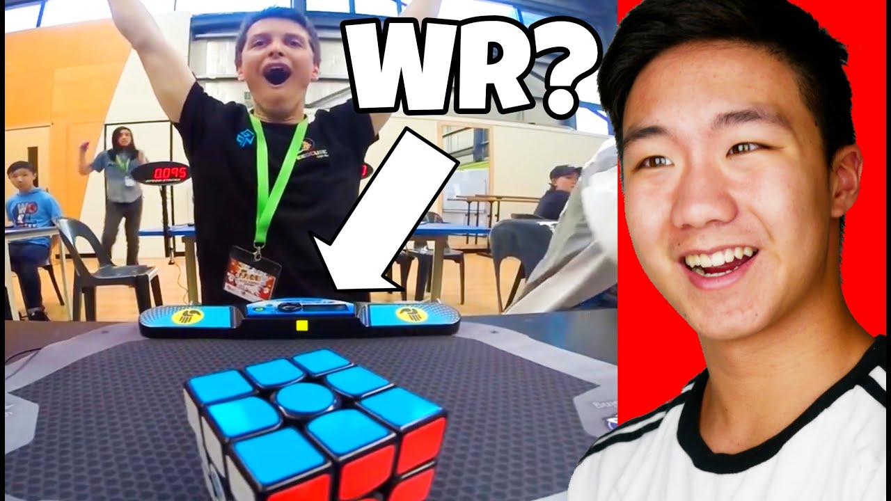 THE GREATEST MOMENTS IN CUBING HISTORY