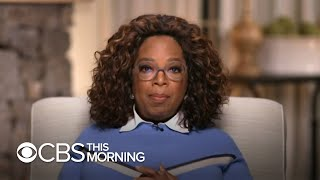 Oprah Winfrey on her bombshell Harry and Meghan interview