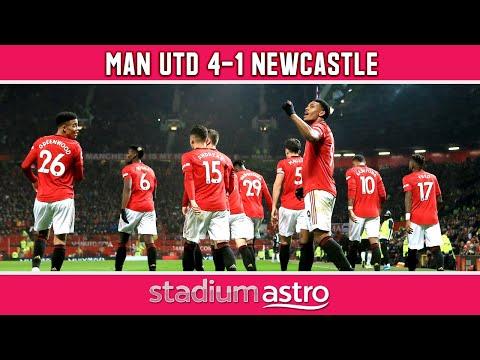 Manchester Utd 4 - 1 Newcastle   EPL Highlights   Astro Supersport