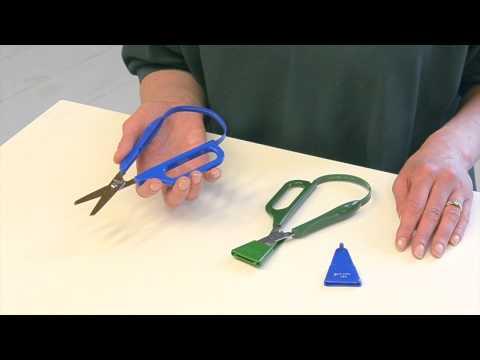 Long Loop Easi-grip Scissors 2