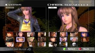 Dead or Alive 4 All Costumes Unlock