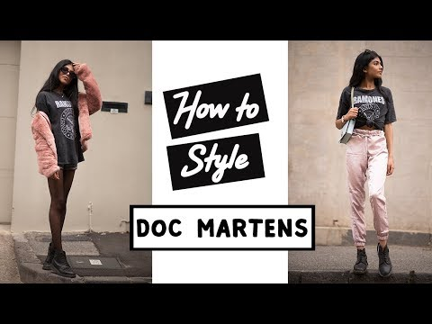 HOW TO STYLE: DOC MARTENS