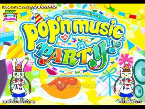 pop'n music 16 PARTY - Opening & Demo loop