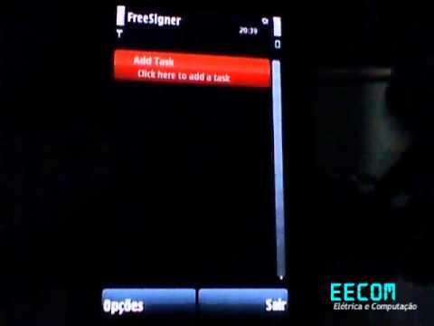 Solucao de problema de certificado com o FreeSigner no Nokia 5800