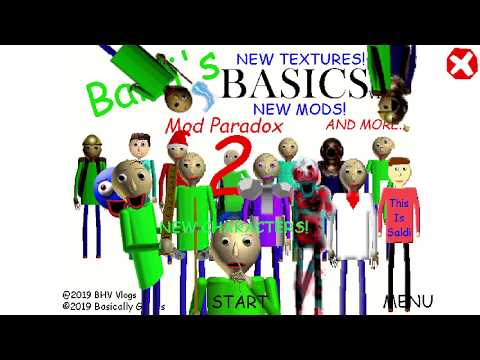 Baldi's Mod Paradox 2