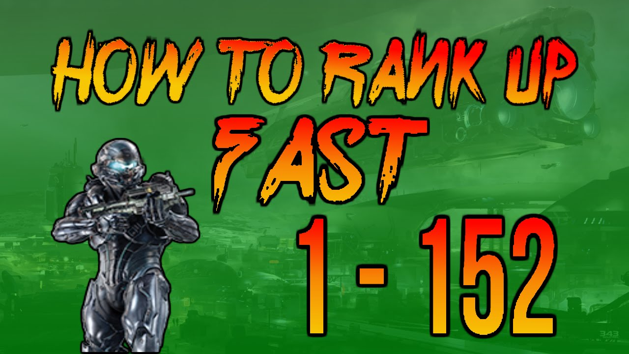 Halo 5 - HOW TO RANK UP FAST - YouTube