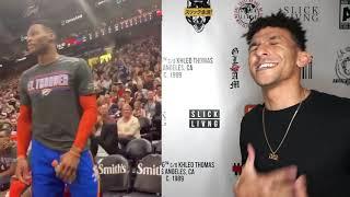 Russell Westbrook Threatens Fan - Aint Sh*T Sweet