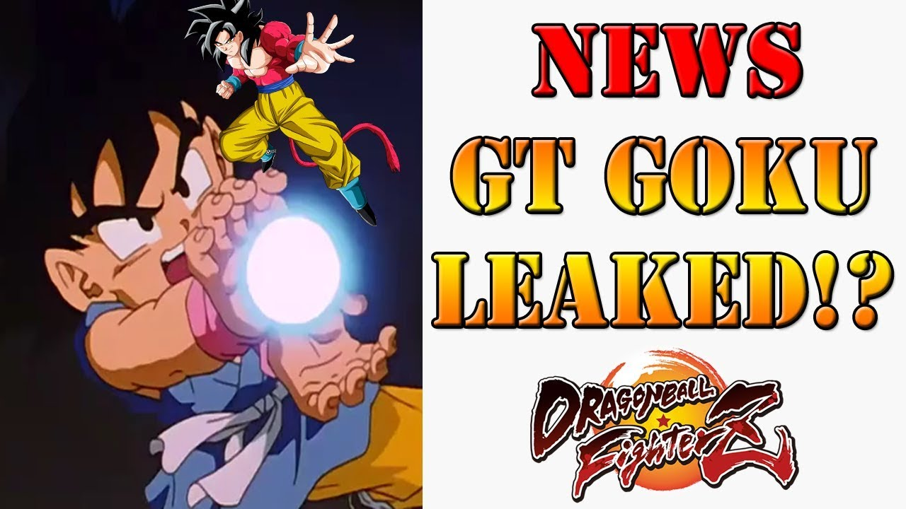 Dragon Ball FighterZ - GT Goku leaked as the next DLC character!?