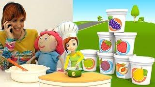 Nuovo! Cuciniamo insieme una torta   video divertenti per bambini