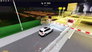 Roblox - Rolgate station level crossing - Just a quick look in my BMW (29/09/2019)