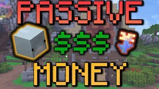 HOW to make MONEY PASSIVELY - (Hypixel Skyblock)