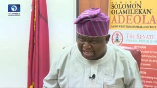 The Gavel: Senator Adeola Decries Fraudulent Activities By MDAs In Accounting IGR